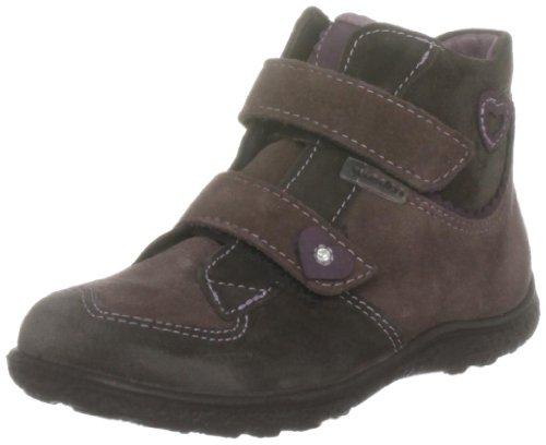 RICOSTA Minky, Boots Fille - Gris (Gris Pierre), 19 EU (3 Child UK)