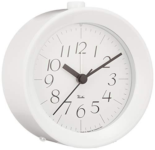 RIKI ALARM CLOCK ホワイト アラーム時計 WR09-14 WH