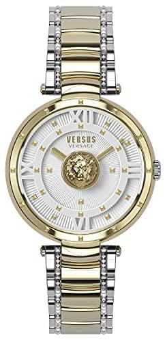 Versus Versace Dames analoog kwarts horloge met roestvrij stalen armband VSPHH0620