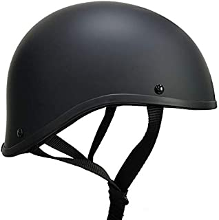 Crazy ALS Maltese SOA Worlds Smallest Helmet Limited Edition Size Large (Flat Black, l)