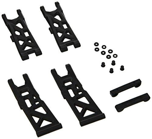 Carson 500405420 – Modélisme Accessoires : x10et Rock Warrior Set de Bras de Suspension ET Support