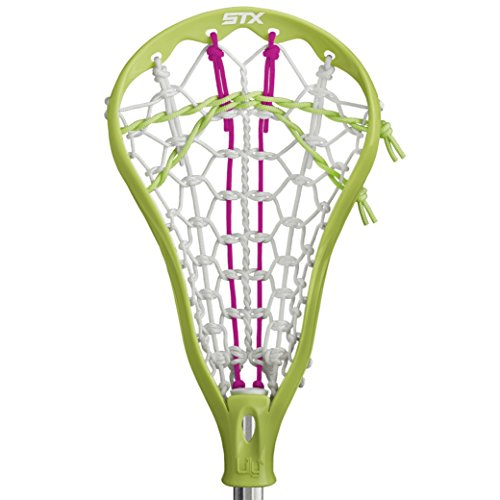 STX Lacrosse Lilly Complete Beginners Stick with Lime Head with Beginners AL6000 Lacrosse Shaft