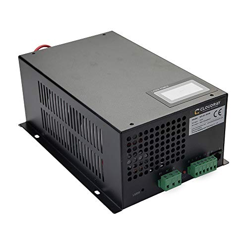 Fuente de alimentación láser CO2 Cloudray 80-100W 220V para cortador grabador láser CO2 MYJG-100