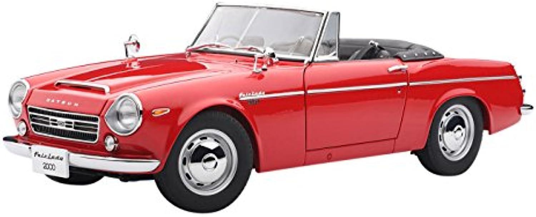 AutoArt 77431 Datsun Fairlady 2000 (SR311) rot Die-Cast Standmodell 1 18