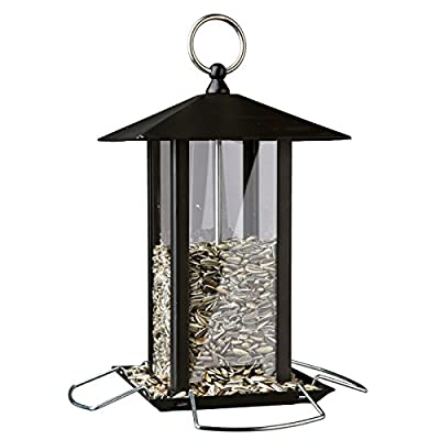Trixie Metal Food Dispenser, Black from Trixie