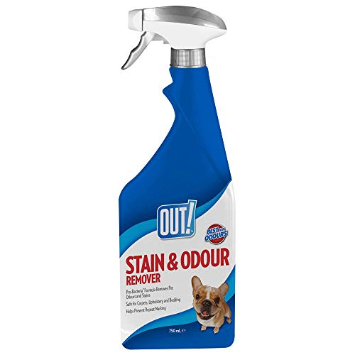 OUT! Pet Stain and Odour Remover, 750 ml
