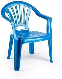 Silla Infantil plastico (Azul Oscuro)