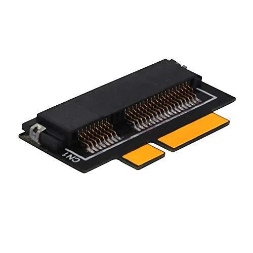 LYWS 7+17 pines mSATA SSD a SATA Tarjeta Adaptador para Macbook Pro Retina y IMac 2012