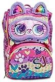SJ Gang Zaino estendibile big animali fantasy colorato con decorazioni e dettagli scuola bambine