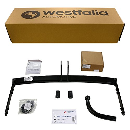 Westfalia starre Anhängerkupplung - AHK für VW Golf 4 Variant & Bora Variant - Im Set mit 13-poligem fahrzeugspezifischem Westfalia Elektrosatz