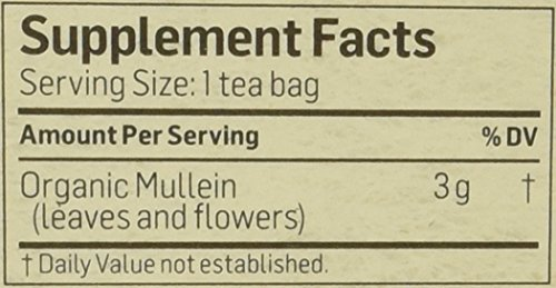Alvita Teas Mullein Tea Bag, 24 Count