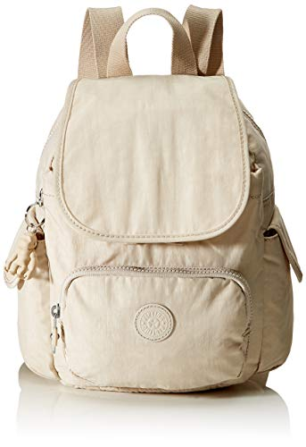 Kipling City Pack Mini, BACKPACKS para Mujer, Marfil dinámico, 14x27x29 cm (LxWxH)