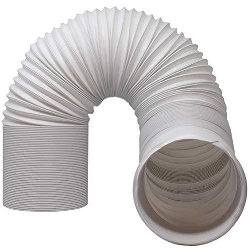 spier Manguera de aire acondicionado ajustable para tubo de escape de aire acondicionado con rosca en el sentido de las agujas del reloj.