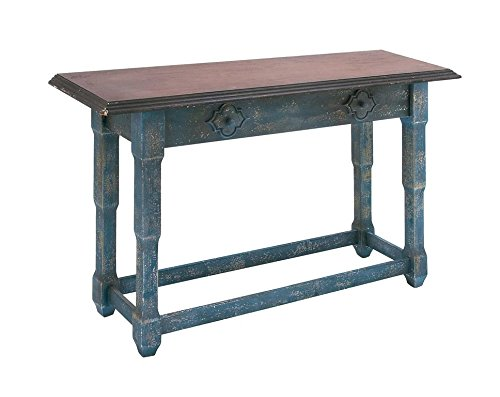 Country Farmhouse Wood Console Table