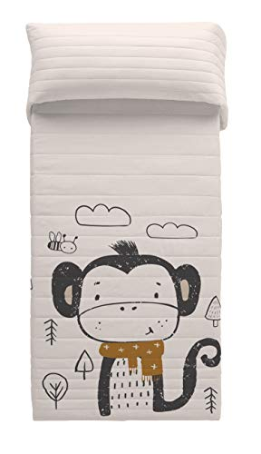 POP CORN Colcha bouti Scarf Monkey Cama 105