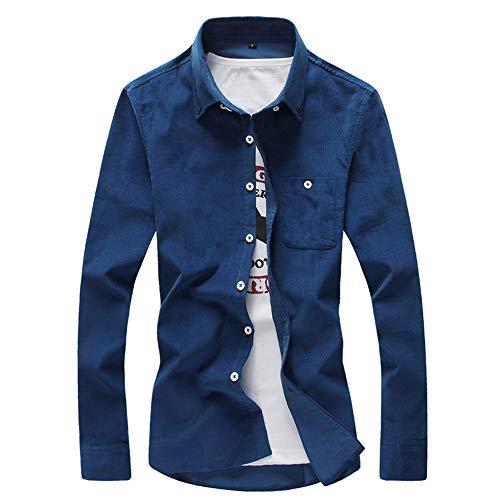 CICIYONER Männer Schlanker dünner Mantel Lange Ärmel Shirt Herren Tshirt Tshirts Jack Freizeit Volltonfarbe Mehrfarbig Top M L XL XXL XXXL