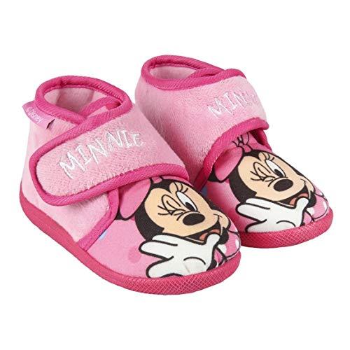CERDÁ LIFE'S LITTLE MOMENTS 2300004566_T024-C07, Zapatillas de Casa Minnie-Licencia Oficial Disney para Niñas, Rosa, 24 EU