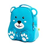 Mochilas Infantiles, 3D Mochila Infantil Animales Impermeable Mochila Bebé Guardería Preescolar Bolsa Toddler Escolar Backpacks para Niño Niña 2-6 años, Blue Bear