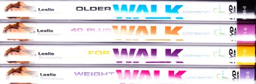 Leslie Sansone : Older Adults Walk & Firm , Leslie Sansone for Seniors : Walk Aerobics , Lesline Sansone -Over 40 Workout Walk 2 Miles , Leslie Sansone - Weight Loss Walk : Senior Value Pack Collection - 4 DVD SET
