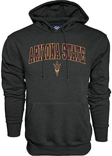 Elite Fan Shop Arizona State Sun Devils Hooded Sweatshirt Varsity Charcoal X Large product image