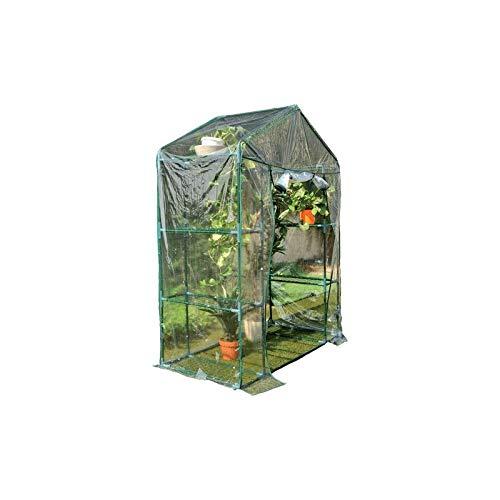 Mondo Verde Serre de balcon 'optima' 140 x 70 x H 195-8 étagères