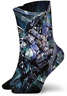 AEMAPE, Anime F-Reedom G-Undam Calcetines Deportivos Medio Acolchados para Hombre