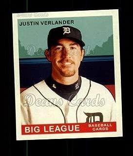 2007 Upper Deck Goudey Green Backs # 200 Justin Verlander Detroit Tigers (Baseball Card) Dean's Cards 8 - NM/MT Tigers