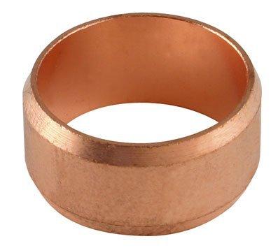 Raccordo di compressione, 10 mm, colore: rame (raccordi a compressione in ottone), dimensioni confezione: 1 x 20