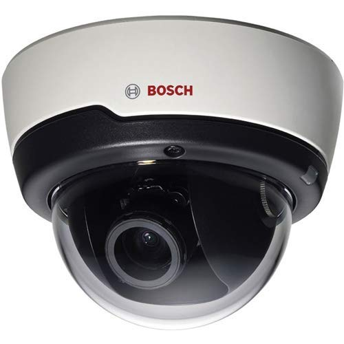 Bosch Security Systems | NIN-50022-A3 Security Camera, Dome, Pro IP, Indoor, 2mp Resolution, PoE, H.264 Quad-Streaming, Day/Night, 15 Meter Distance, Cloud Service, Motion/Tamper/Audio Detection
