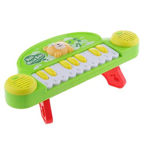 Gazechimp Jouets Instruments de musique Jeux Enfants 10 Touches Clavier électronique Accessoire Apprentissage Précoce Musical