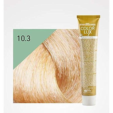 Design Look Crema colorante permanente Color Lux 10.3 Rubio Platino dorado 100 mL