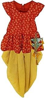 Aglare Girls's indowestern dhoti suit,salwar suit sets for Girls suite,peplum dhoti set,peplum dhoti and top.