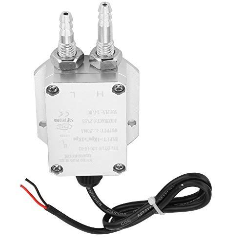 Transmisor de presión DC24V, transmisor de diferencia duradero, alta precisión para caldera, aspiradora, colector de polvo, sala limpia(-1Kpa~+1Kpa)
