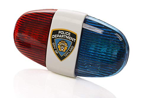Playmags Tech for Kids Police 4-Melody Bicycle Power Horn Siren by KidsTech