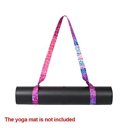 Yoga mat riem Verstelbare yoga riem Sling Yoga mat Draagriem Elastische schouderband voor yogamat
