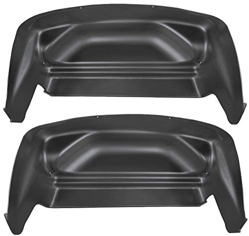 Husky Liners Fits 2007-13 Chevrolet Silverado/GMC Sierra 1500, 2007-14 Chevrolet Silverado/GMC Sierra 2500/3500 -  SINGLE REAR WHEELS Rear Wheel Well Guards