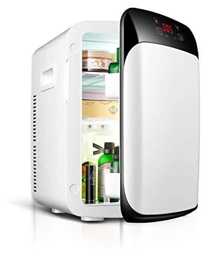 SHUHANG Mini refrigerador Calefacción eléctrica Radiador 15L Portátil Dos Coches Frigorífico refrigerador con termostato Digital (Size : 26x32x38cm)