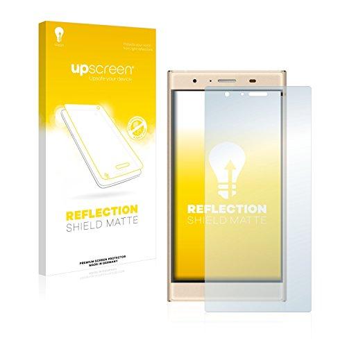 upscreen Entspiegelungs-Schutzfolie kompatibel mit Doogee Y300 – Anti-Reflex Bildschirmschutz-Folie Matt