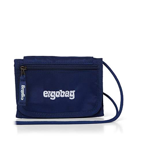 Ergobag Brustbeutel BlaulichtBär, Kleingeldfach, Sichtfenster, Schlüsselring, Blau