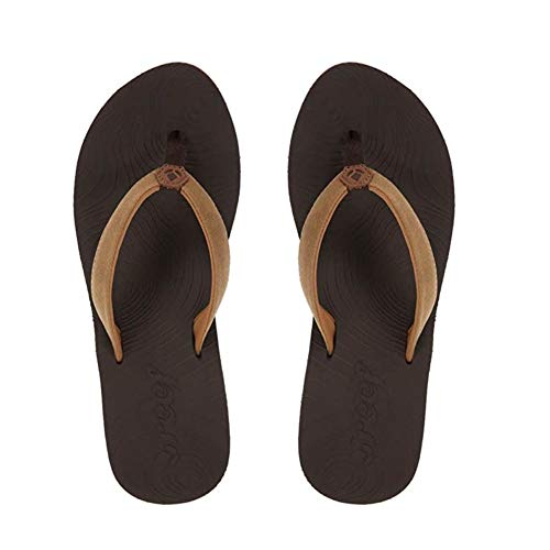 Reef Women's Zen Love Sandal,Brown Tobacco,11 M US