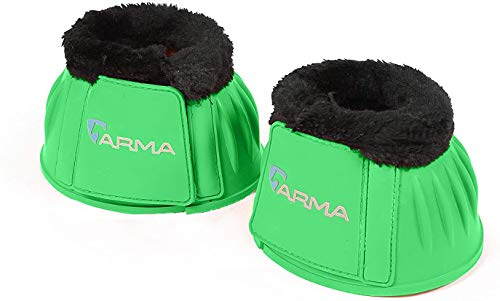 Shires Arma Fleece Trim Bell Boots