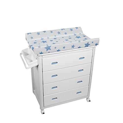 Plastimyr - Bañera Cajones Blancos Estrella Azul
