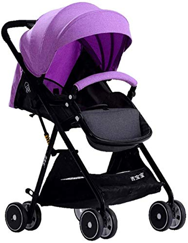 Read About WYRRJ 【New Upgrade】 The Stroller is Light and Compact, can sit Down and Lay on The St...