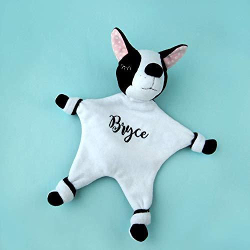 French Bulldog Baby Gift, Plush Blanket Stuff, Dog Lovey, Blanket, Frenchie Baby Shower