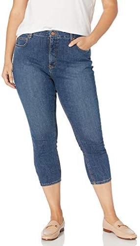 Dickies Women s Perfect Shape Denim Capri Pant Stonewashed Indigo Blue 0 product image