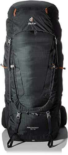 deuter Aircontact 65+10 Sac à dos de trekking Taille unique Graphite/noir