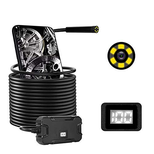 2.0MPワイヤレス内視鏡、5.5mmレンズ付きWiFiボアスコープ検査カメラ、Android用の1080P HD防水スネークカメラ、iPhone