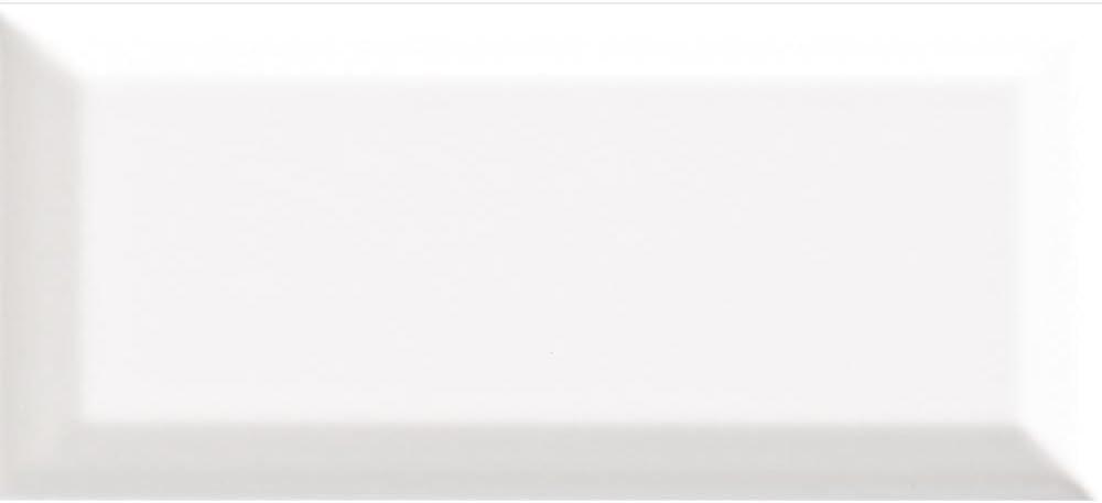 Snow White 3X6 Brand Outlet SALE new Beveled Edge Ceramic 10 80 carton pcs Wall Tile-