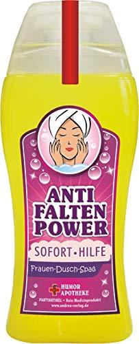 Spaß Duschbäder Duschgel Shampoo zum Geburtstag Geschenk für Männer Frauen (Anti- Falten- Power 33001)