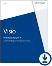 Microsoft Visio Professional 2013 (1PC/1User) [Download]